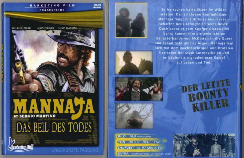 DVD MANNAJA Kleine BUCHBOX (x)