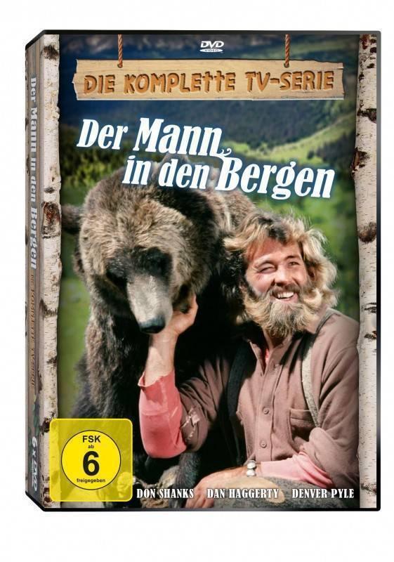 3 * Der Mann in den Bergen - kompl. TV Serie! BOX