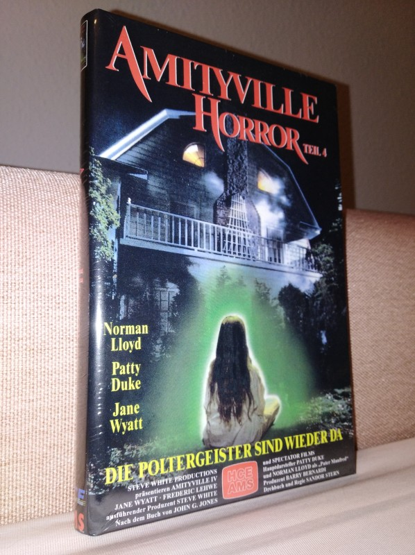 Amityville Horror 4   gr. AMS DVD Hartbox   Neu+Ovp