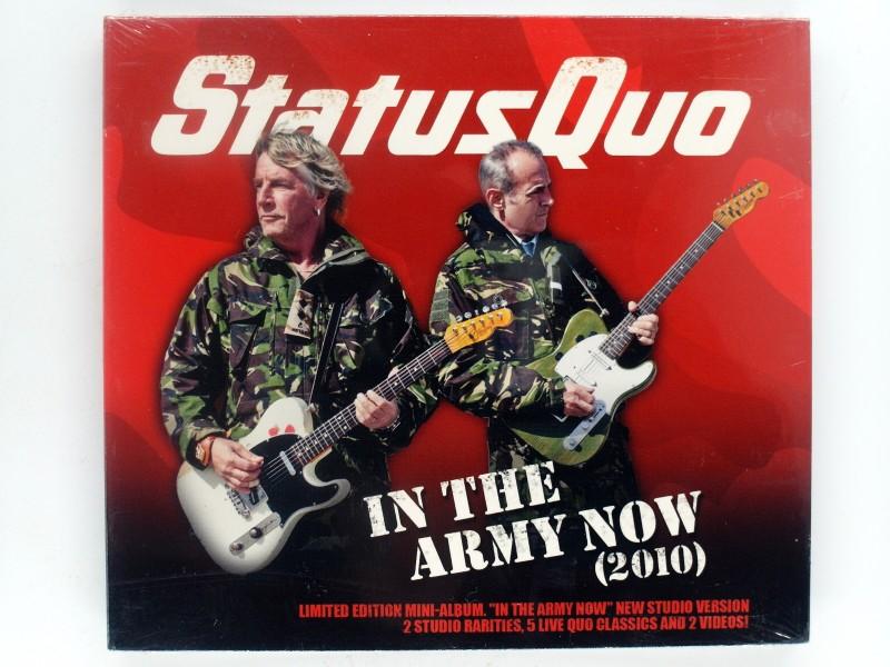 Status Quo - In the Army now (2010) - Limited Mini- Album - 5x Live, 2 Studio- Raritäten, 2 Videos
