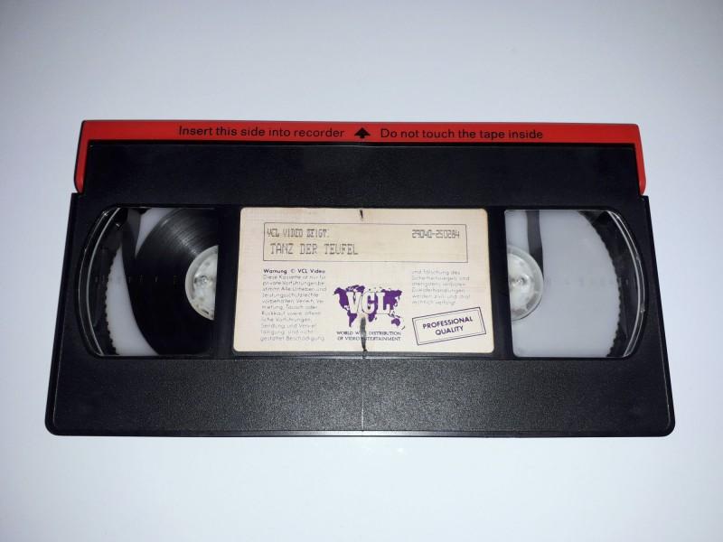 Tanz der Teufel (AKA. The Evil Dead) - VHS Video - Erstauflage VCL Hartbox