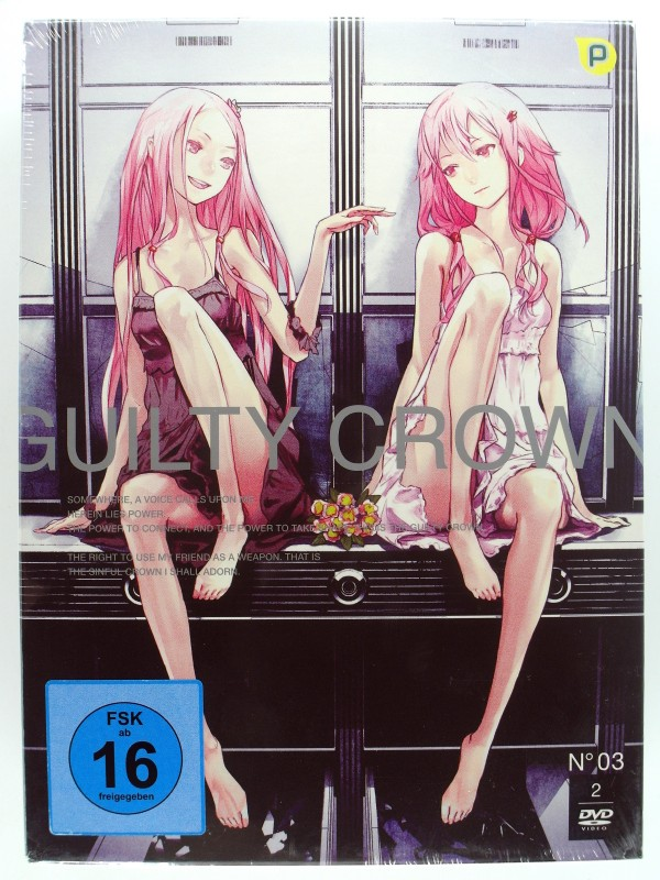 Guilty Crown - Vol. 3 - Anime - Fantastische Animation, mitreißende Fantasy Story - Apokalypse Virus, Schule