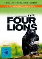 Four Lions - DVD/Blu-ray - Mediabook - Neu/OVP
