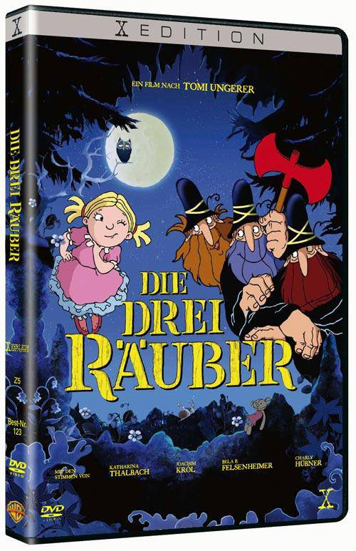 X EDITION   Die drei Räuber (DVD) Kinder Trickfilm Klassiker