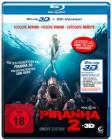 Piranha 2 - 3D - uncut - Blu Ray - NEU/OVP