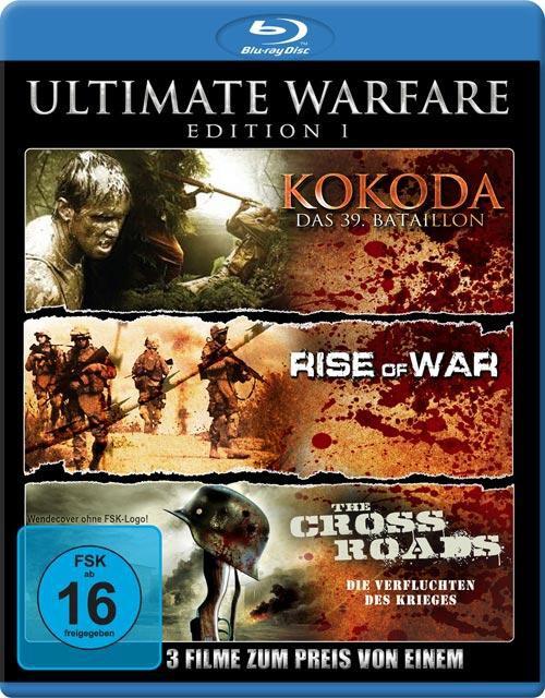 Ultimate Warfare - Edition 1 (Kokoda - Das 39. Bataillon / Rise Of War / The Cross Roads - Die Verfluchten des Krieges)