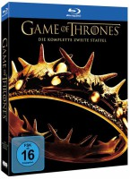 Game of Thrones Staffel 2 Uncut 5 Blu-ray Amaray Box Schuber