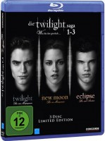 Die Twilight Saga 1-3 Was bis(s)her geschah Blu-ray OvpUncut