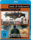 District 9 & World Invasion: Battle Los Angeles  Blu-ray