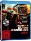 Insane Blood Massacre - uncut -- Blu-ray