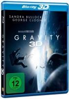 Gravity - 3D + 2D Ovp Blu-ray Uncut George Clooney S.Bullock