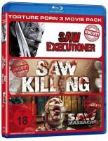 Torture Porn 3er Pack - Uncut (Bluy Ray) OVP