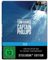 Tom Hanks Captain Phillips - Steelbook Edition  (RAR) NEU