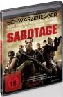 Sabotage (Uncut Version) Arnold Schwarzenegger - Blu Ray