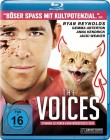 The Voices - Ryan Reynolds + Gemma Arterton - Blu-ray  TOP