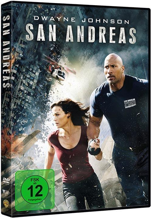The Rock SAN ANDREAS DVD wie neu !!!!!!!!
