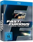 Fast & Furious 1 - 7 Collection -UNCUT- 7 Blu-Rays