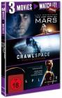 3 Movies - watch it: Last Days on Mars / Crawlspace / Splice