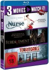 3 Movies - watch it: Territories / Bereavement /Nurse BR NEU
