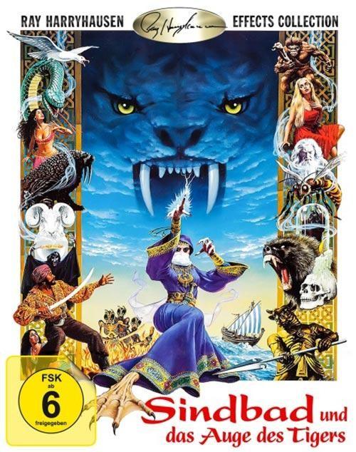 Sindbad und das Auge des Tigers Blu-ray im Schuber 1. Auflage rar