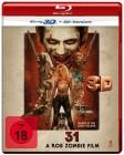 31 - A Rob Zombie Film - 3D - NEU - OVP