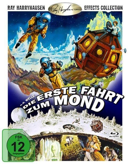 Die erste Fahrt zum Mond Blu-ray im Schuber 1. Auflage rar