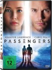 Passengers - Jennifer Lawrence & Chris Pratt - DVD 2016