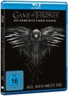GAME OF THRONES - DIE KOMPLETTE VIERTE STAFFEL - 4 DISCs