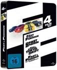 Fast & Furious - 4-Movie-Boxset NEU/OVP