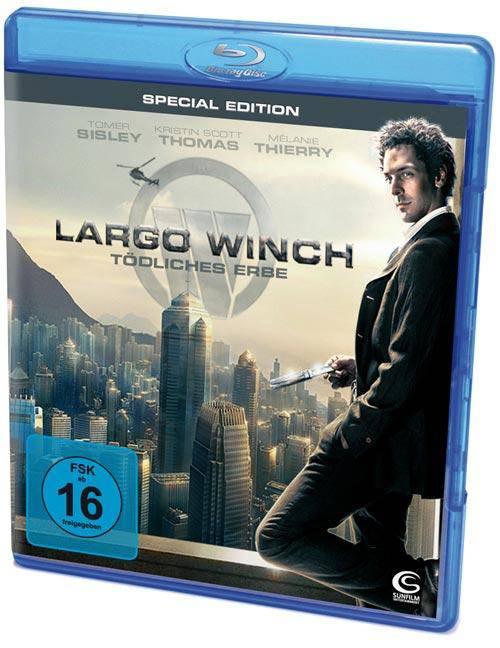 Largo Winch - Tödliches Erbe Uncut Blu-ray