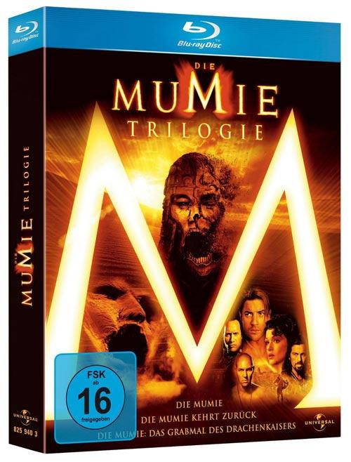 Die Mumie Trilogie - 3 Disc Blu-ray Collection mit 3D-Cover Digipack im Schuber