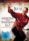DVD Jet Li - Meister der Shaolin 1 & 2 Rarität