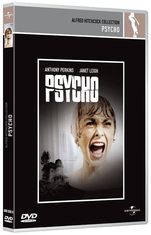 Alfred Hitchcock PSYCHO Uncut-UK-DVD DEUTSCH wie neu !!!!!