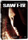 SAW I - IV - Steel Edition (1+2+3+4) Steelbook