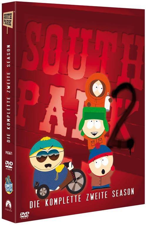 DVD South Park - Season 2 ERSTAUFLAGE DIGIPAK WIE NEU