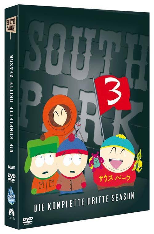 DVD South Park - Season 3 ERSTAUFLAGE DIGIPAK WIE NEU