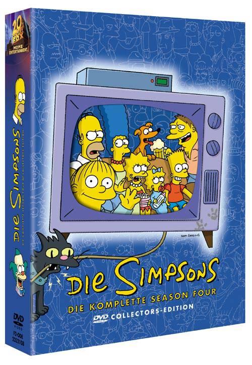DVD Die Simpsons: Season 4 - BOX-Set DIGIPAK WIE NEU