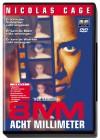 8mm - Acht Millimeter - Snuff-Thriller, Nicolas Cage, uncut