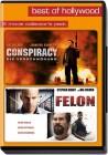 Conspiracy / Felon - Val Kilmer, Stephen Dorff - 2 DVDs