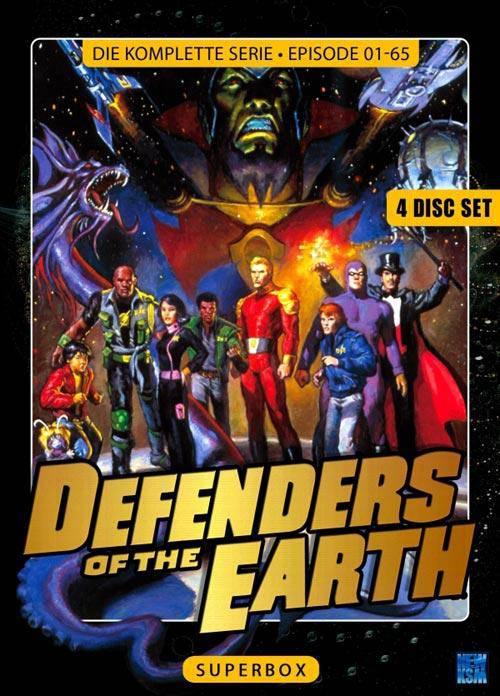 Defenders Of The Earth - Superbox - Episode 1 - 65 Komplett