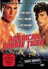 American Karate Tiger DVD FSK18 Wendecover